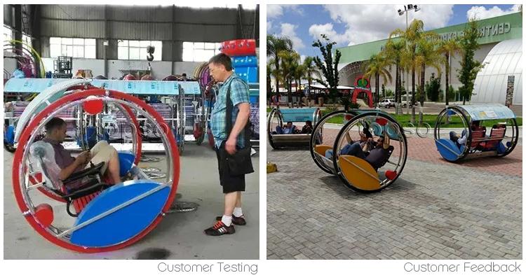 Hot Bán 360 Độ Xoay Rides Mini Vui Chơi Giải Trí Công Viên Tay Đua Điện Hạnh Phúc Le Thanh Xe Với Giấy Chứng Nhận Ce