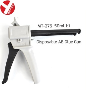 50ml AB Adhesive Glue Caulking Gun