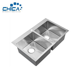 Stainless Steel Kitchen Washing Machine Vanity Under Mount Turkish Bar Laundry Wash Basin Sink Cabinet