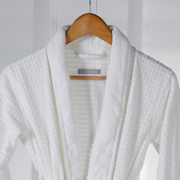 Two Pocket With Logo Brand Bathrobes Hotel Plush Robe - Buy Washable ... 3a6418d43