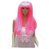 MCW-0316 Party Masquerade synthetic long women Hot straight pink wig