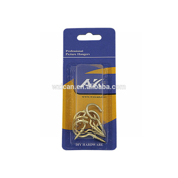 "high quality shouldered cup hook size avaialbe from 1/2"" to 2"" made in china"