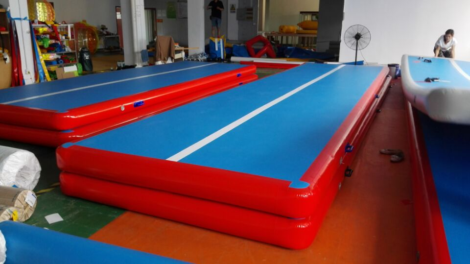mat for track floor pin mats air home tumbling gym inflatable gymnastics equipment