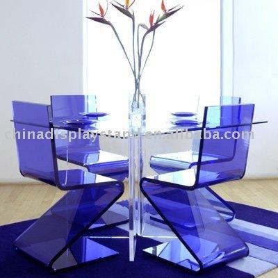 Acrylic Z Chair/acrylic Dining Chair