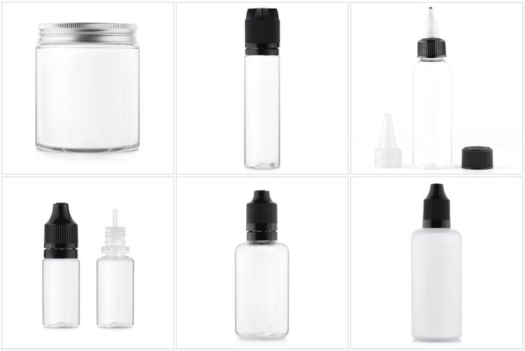 60ml de Aceite de Pelo apretón aplicador botella de embalaje con giro tapa