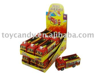 Ywd-455 Fire Engine Candy Toys
