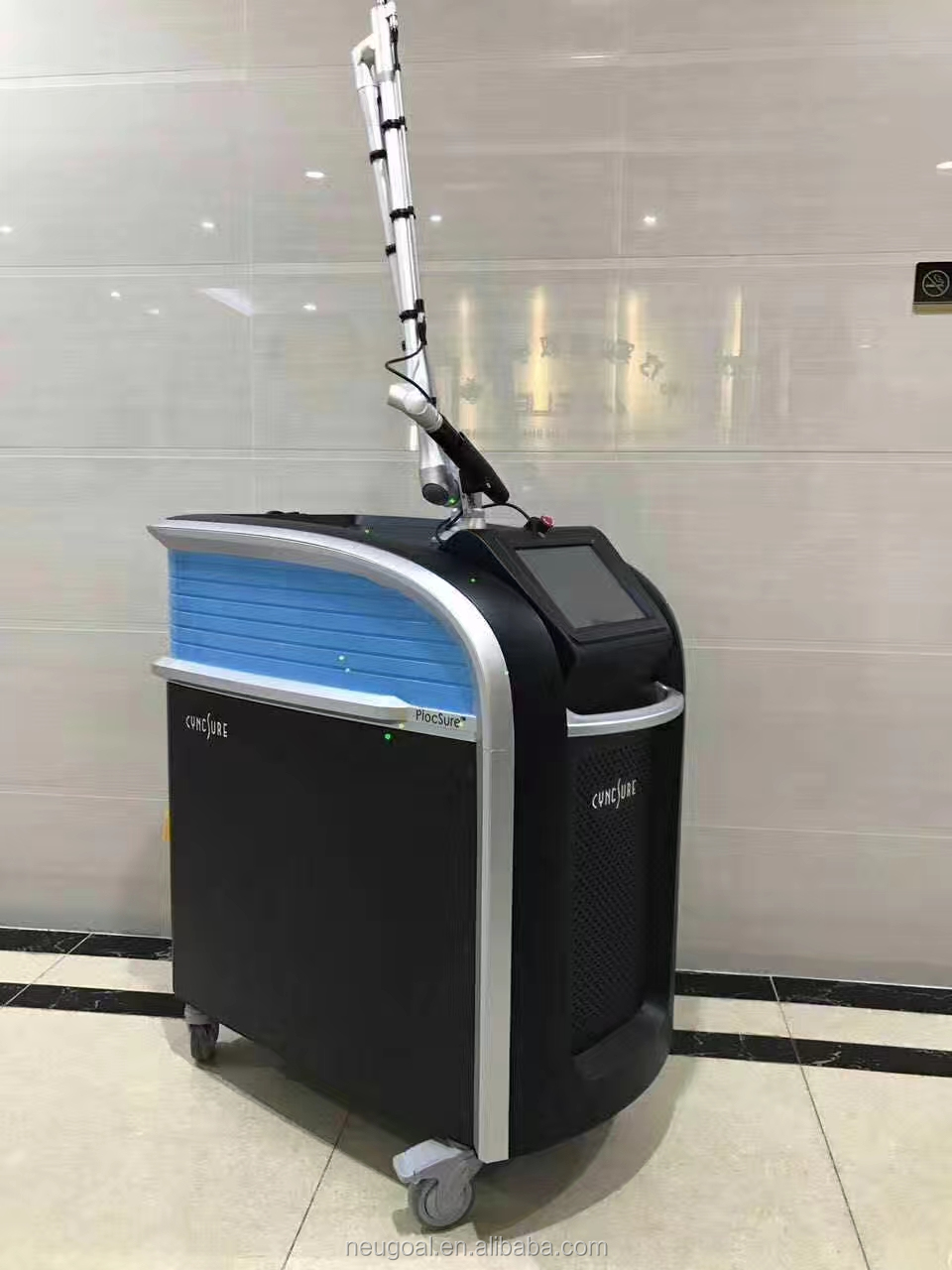 1064nm 755nm picosecond laser tattoo removal hair regrowth เครื่อง