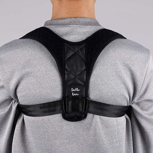 Comfortable premium posture corrector clavicle brace neck traction device and back posture