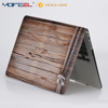 For apple macbook PC cover wooden style laptop case for Macbook 12