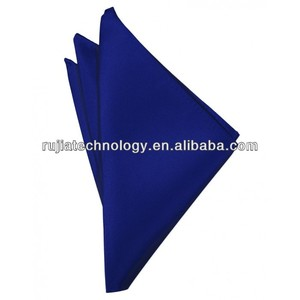 Plain Soft Satin Brand Handkerchief