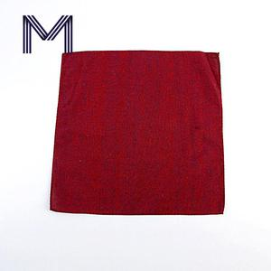 New arrive formal business red novelty cotton men handkerchief