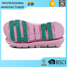 Low Price Soft Outdoor China Eva Flat Thick Colored Shoe Model Slipper Eva Sole Tpr Outsole