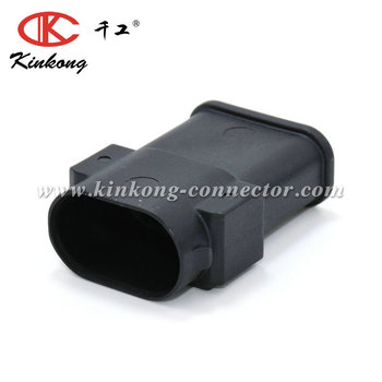 Kinkong manufactured 6 pin Tyco/Amp waterproof male Accelerator pedal connector 1-967587-3/1-968818-3/1-967361-3