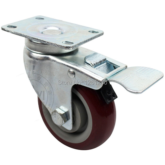 Get Quotations · Tnt Express Furniture Caster 3 Inch Swivel Wheel Steering  Table Sofa Wheel Universal Mute Authentic