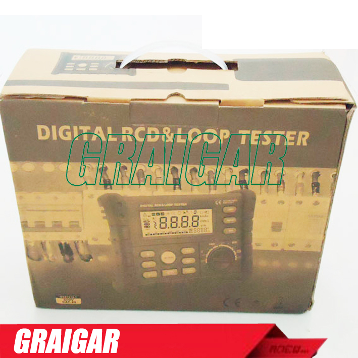 440V AC voltage ,500mA, RCD/LOOP Tester MS5910