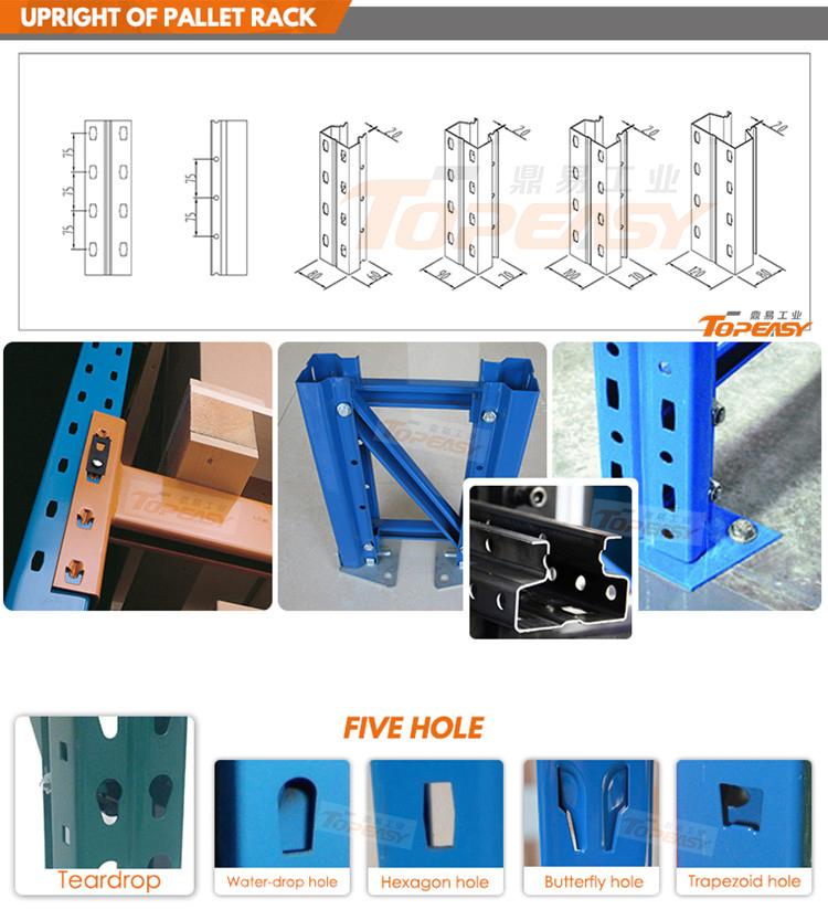 heavy duty metal warehouse storage rack