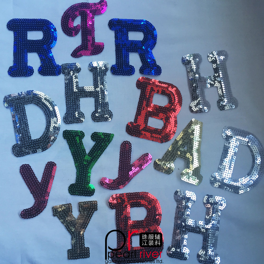 sequin letters sequin letters suppliers and manufacturers at alibabacom