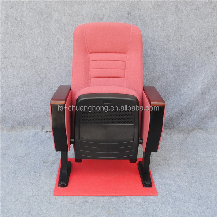 Popular Red Metal folding theater chairs for cinema YC - TN01