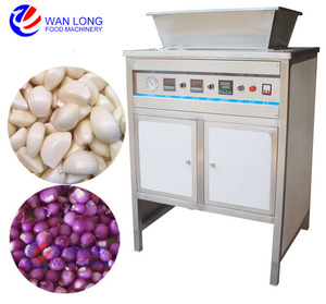 commercial electric used dry garlic clove peeling machine peeler price of small garlic skin removing machine