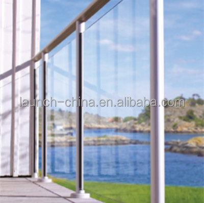 European Style 2015 Best Sale Aluminum Glass Railing Systems