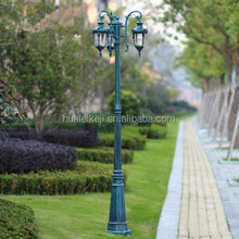 Liang Figure decorative antique garden cast iron lamp post