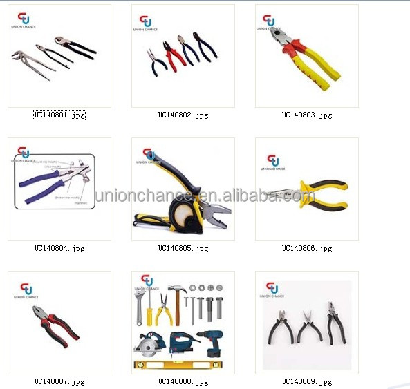 Hardware Tools Set With Types Of Pliers Buy Types Of
