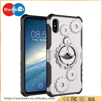 64c87a23bf87 China factory wholesale for iPhone X case TPU cell phone cover NEW designer  wheel gear pattern