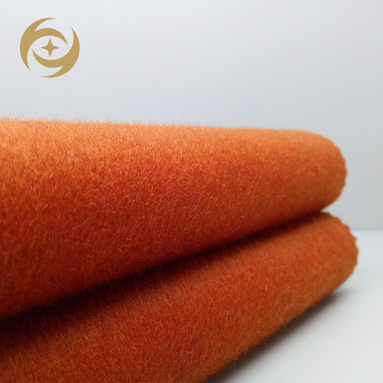 80%wool 20%other double faced alpaca mohair fleece wool fabric for overcoat