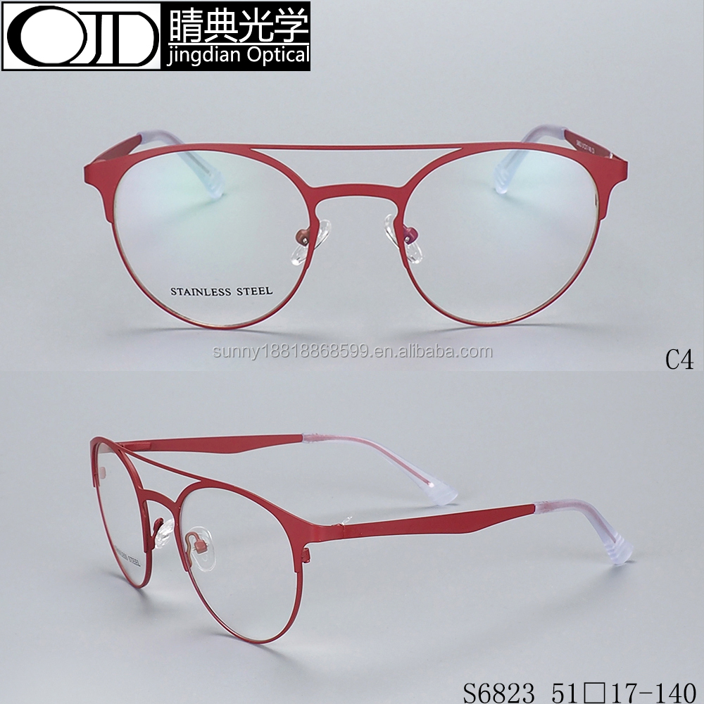 Eyeglass Frame Italy Designer Prescription Glasses Types Of Spectacles Frame S6823