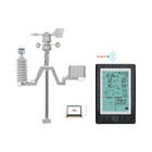Solar powered Bluetooth meteorological station professional WiFi Weather Station wireless indoor outdoor with APP