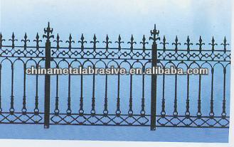 PVC coated High Palisade fence(factory)
