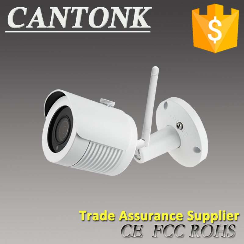 Cantonk 2M Bullet Wireless IP WIFI Camera With Onvif H.265