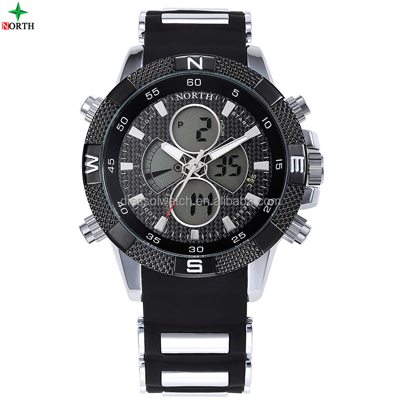 vogue analog quartz 3 atm water resistant chronograph watch
