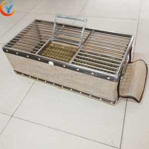 Plastic Chicken Duck Quail Birds Pigeon Transport Cages For Live Poultry