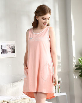 Cool Tank Top Sleeping Dress Loose Girls Sexy Night Dress Buy