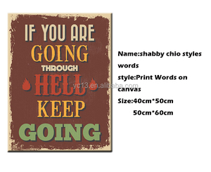 shabby chic style words canvas printing services with words print on canvas