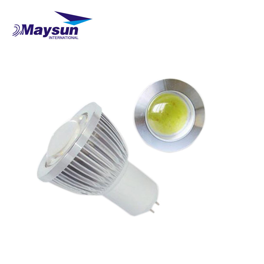 3W 5W 2700K 4000K 6500K GU10 E27 GU5.3 MR16 dimmable LED COB <strong>Spotlight</strong>