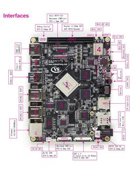 Super Diyopen Source Linux&debian(ubuntu)dual System Dual Screen Display 6  Core Development Board - Buy Development Board,Dual System Develop
