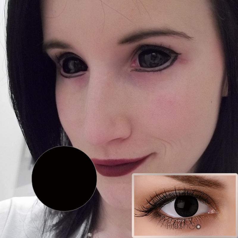 как называется фоторедактор где глаза черные
