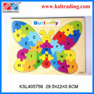 Chinese wholesale study letter games puzzle beautiful alphabet letters edcational toy gift for kids