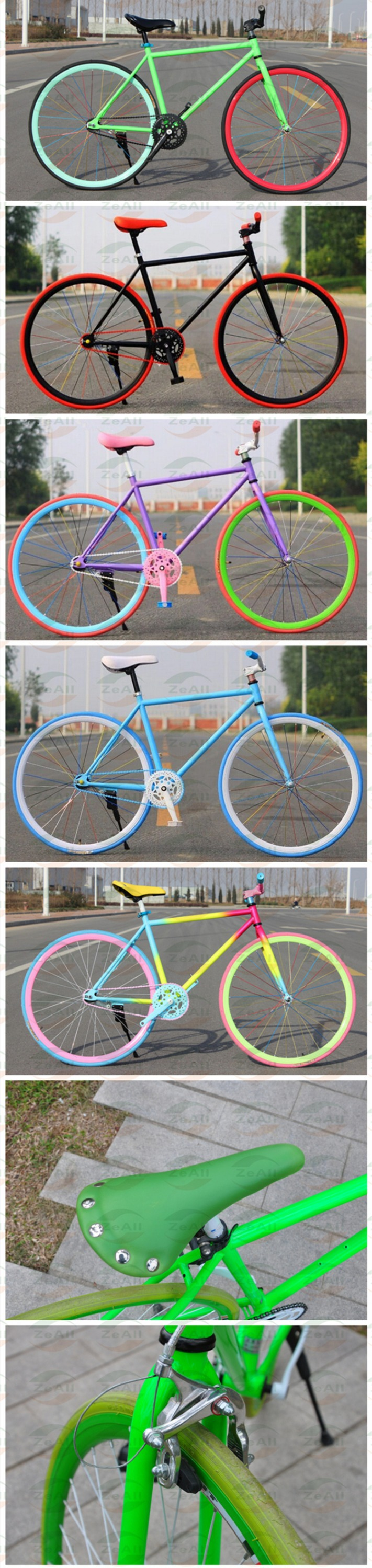26 inch good quality carbon steel fixed gear bike/bicycle