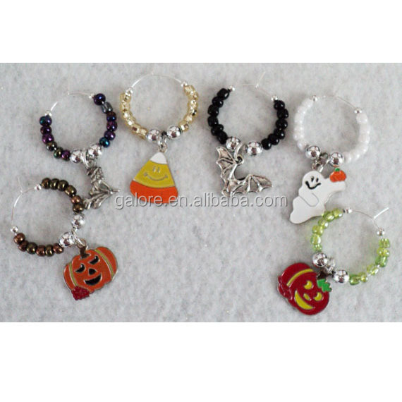 HL074 perle halloween Trick Or Treat wein charme