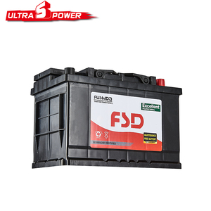 Maintenance Free din Standard Auto Car Battery 12v 75ah