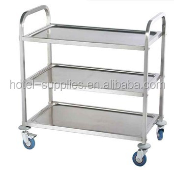 stainless steel Serving trolley /Restaurant car / Dining Car