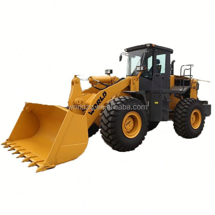 brand new wheel loader for sale W156 with rock bucket and joystick
