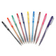plastic click ball point pen for hotel