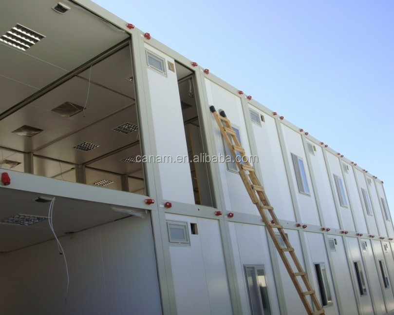 Flat Pack Prefabricated Container House Mobile House