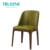 Restaurant Furniture Smooth surface comfortable coffee dinner chair leather