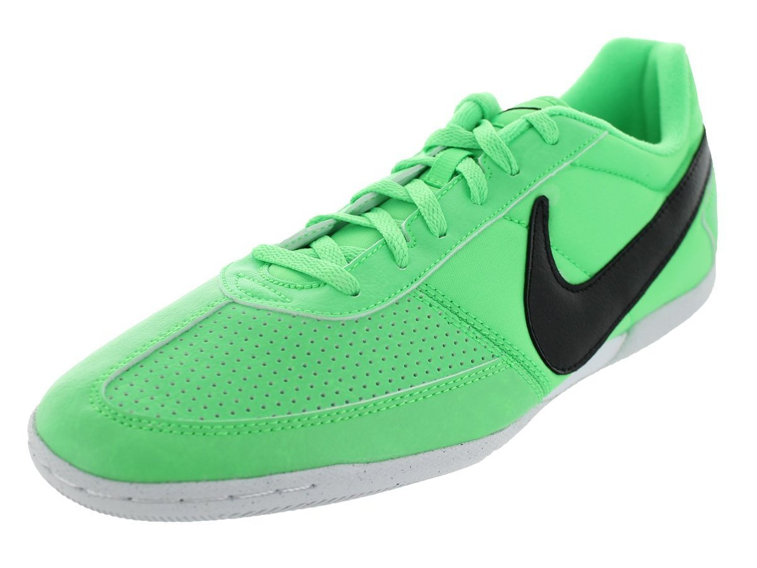 Nike Men's Davinho Poison Green/Black/White Indoor Soccer Shoe 12 Men US