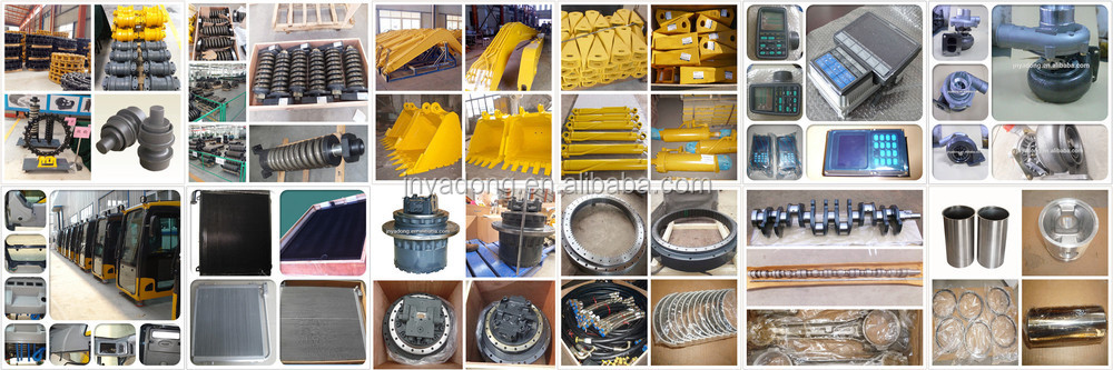 excavator PC270-7 bucket, bucket teeth,adapter from Jining Manufacture